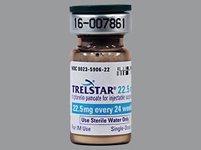 Trelstar 22.5 mg intramuscular suspension