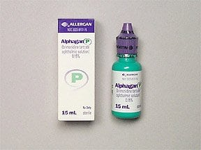 Alphagan P 0.15 % eye drops