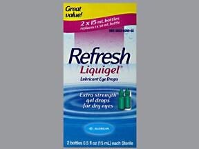 Refresh Liquigel 1 % eye liquid gel drops