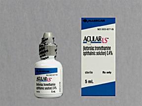 Acular LS 0.4 % eye drops