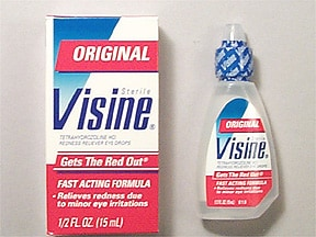 Visine 0.05 % eye drops