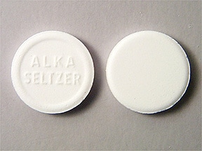 Alka-Seltzer Original 325 mg-1,916 mg-1,000 mg effervescent tablet