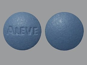 Aleve 220 mg tablet