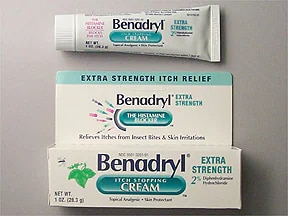 Benadryl Extra Strength Topical : Uses, Side Effects