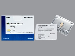 Venclexta 100 mg tablet
