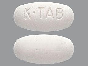 potassium chloride ER 20 mEq tablet,extended release