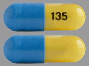 fenofibric acid (choline) 135 mg capsule,delayed release