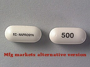 EC-Naprosyn 500 mg tablet,delayed release