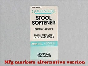 Stool Softener 100 mg capsule