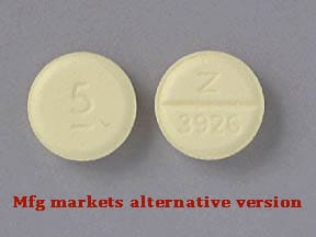 diazepam 5 mg tablet