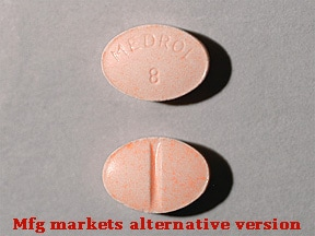 Medrol 8 mg tablet
