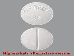 Medrol 32 mg tablet