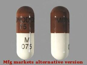 doxycycline monohydrate 75 mg capsule