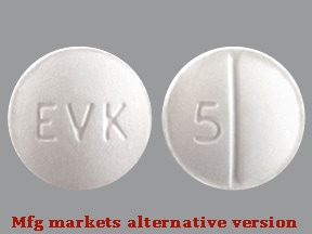 Evekeo 5 mg tablet