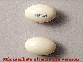 Phillips' Liqui-Gels 100 mg capsule