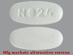 "This medicine is a white, oblong, coated, tablet imprinted with ""N024""."