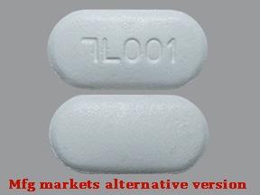 metformin ER 500 mg tablet,extended release 24 hr