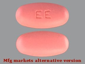 E.E.S. 400 mg tablet