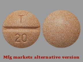 enalapril maleate 20 mg tablet