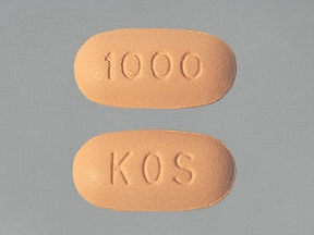 Niaspan 1,000 mg tablet,extended release