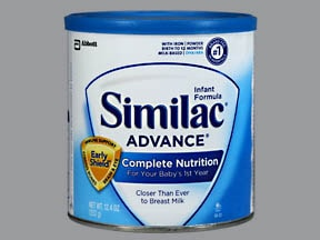 Similac Advance With Iron 2.07 gram-5.6 gram/100 kcal oral powder