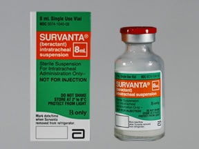 Survanta 25 mg/mL intratracheal suspension