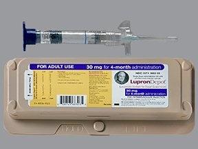 Lupron Depot 30 mg (4 month) intramuscular syringe kit