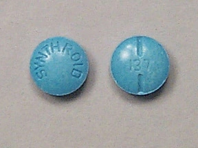 Synthroid 137 mcg tablet