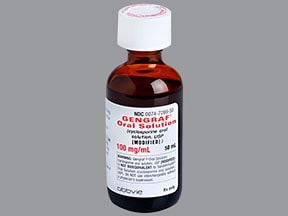 Gengraf 100 mg/mL oral solution