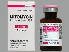 mitomycin 5 mg intravenous solution