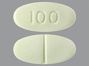 clozapine 100 mg tablet