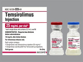 temsirolimus 30 mg/3 mL (10 mg/mL) (first dilution) intravenous soln