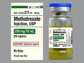 methotrexate sodium (PF) 25 mg/mL injection solution