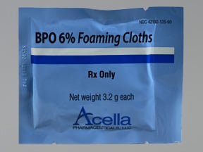 BPO 6 % towelette