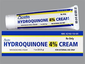 hydroquinone 4 % topical cream