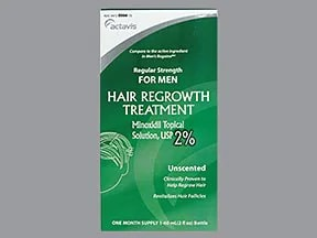 minoxidil 2 % topical solution