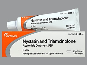 Nystatin-Triamcinolone Topical : Uses, Side Effects