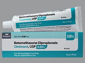 betamethasone dipropionate 0.05 % topical ointment