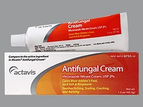 Antifungal Cream (miconazole) 2 % topical