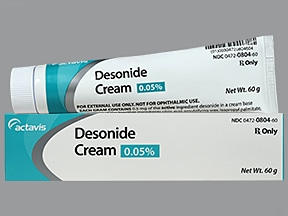 desonide 0.05 % topical cream