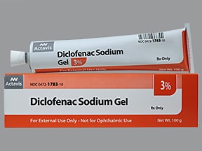 diclofenac 3 % topical gel