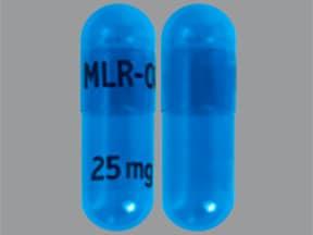 Adhansia XR 25 mg capsule,extended release