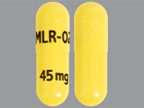 Adhansia XR 45 mg capsule,extended release