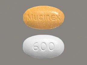 Mucinex D 60 mg-600 mg tablet,extended release