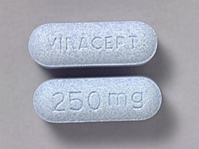Viracept 250 mg tablet