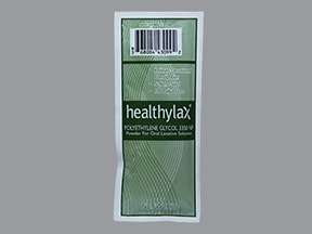 HealthyLax 17 gram oral powder packet