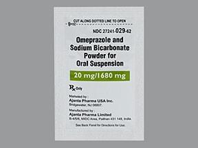 omeprazole 20 mg-sodium bicarbonate 1,680 mg oral packet