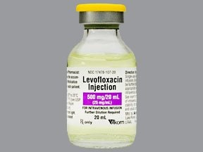 levofloxacin 25 mg/mL intravenous solution