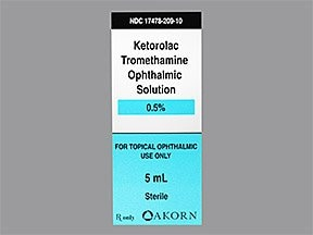 what is ketorolac eye drop