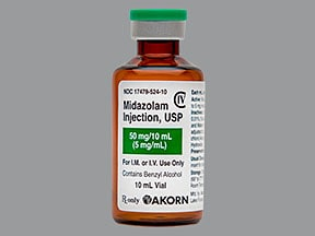 Midazolam Injection : Uses, Side Effects, Interactions, Pictures ...